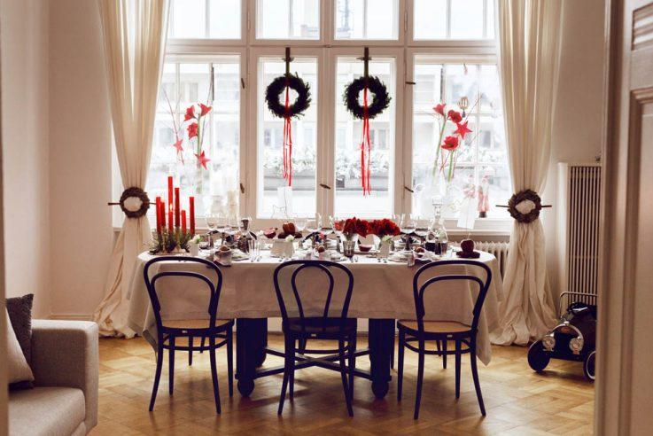 tischkultur callwey wohnbuch weihnachten weihnachtstafel familie schee wohnung