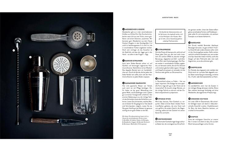 Weihnachtsgeschenk für Männer Kochbuch Bar Bibel Cihan Anadologlu Bar Equipment
