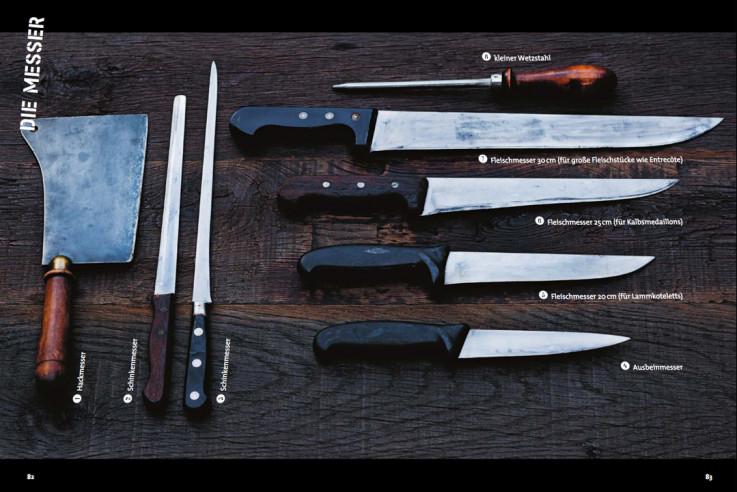 Weihnachtsgeschenk für Männer Messer Kochbuch Techniken Messer richtig benutzen