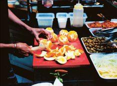 Weihnachtsgeschenk für Männer Messer Kochbuch Techniken Messer Kochbuch Orangen Filetieren