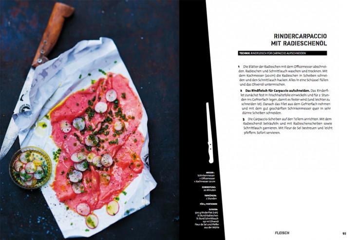 Weihnachtsgeschenk für Männer Messer Kochbuch Techniken Messer Kochbuch Rezepte Kochen mit Messer
