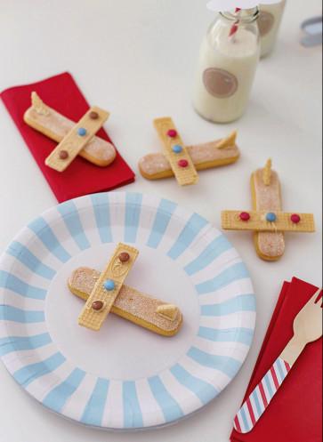 kindergeburtstag süße flugzeuge