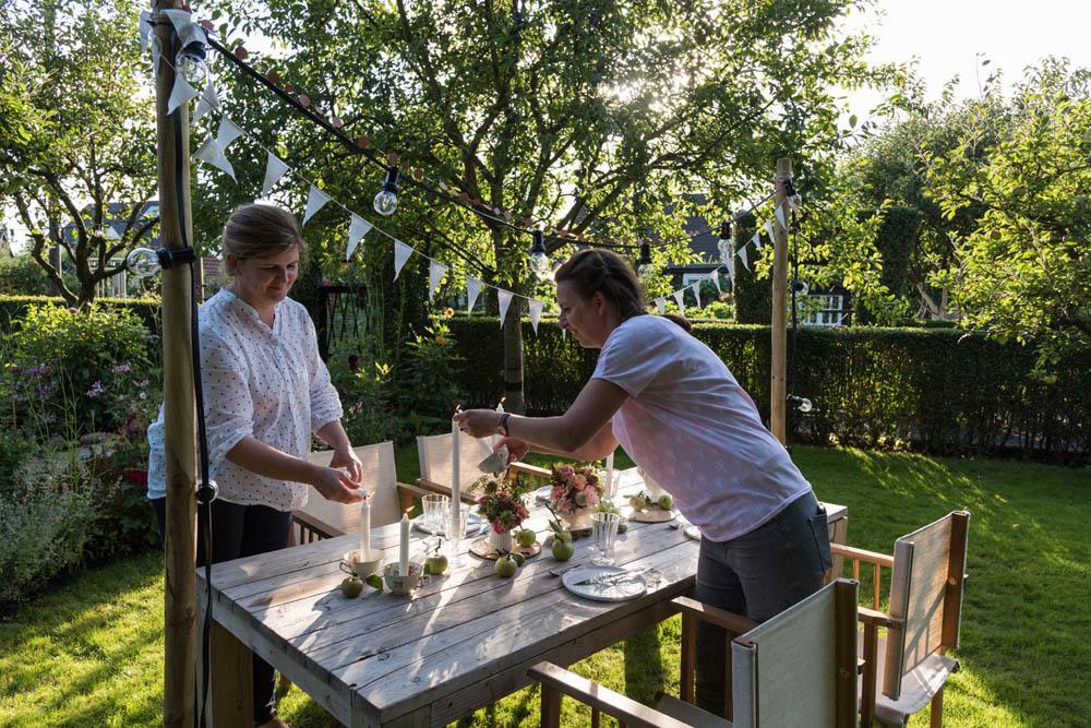 Und Fertig Ist Die Laube Making Of Garden Girls Gartenbuch Callwey