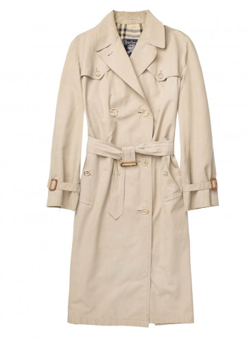 wir lieben vintage callwey modebuch burberry trenchcoat modeklassiker