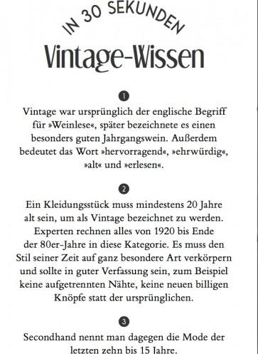 wir lieben vintage modebuch callwey wissen 30 sekunden mode