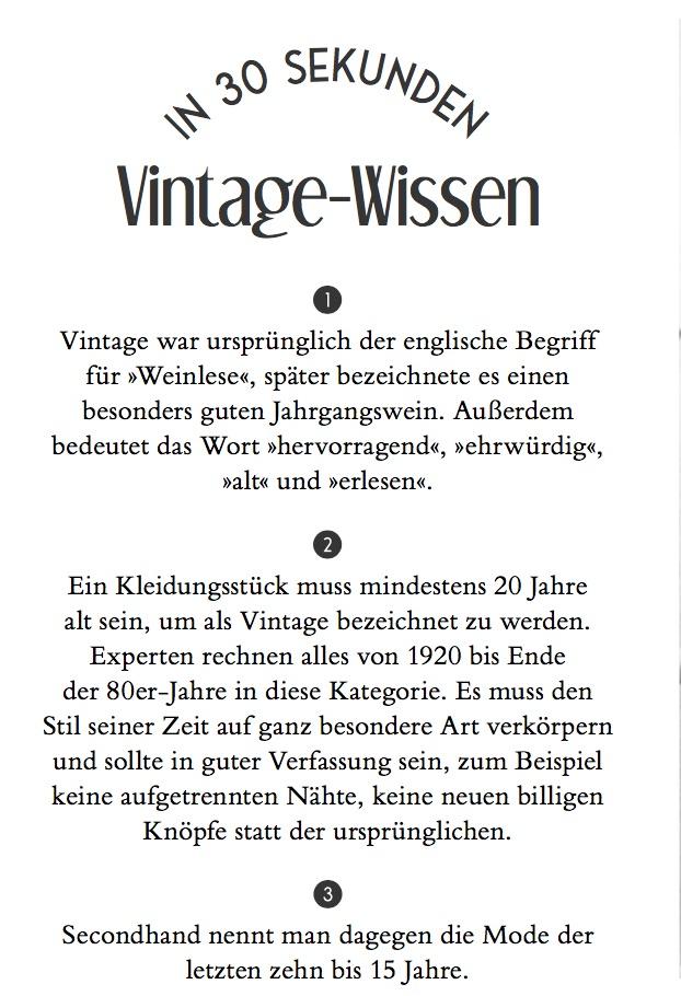 Wir Lieben Vintage Der Vintage Style Guide Des Jahres Modebuch