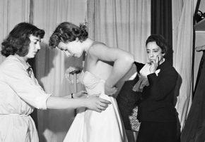 Designer Elsa Schiaparelli Fitting Model