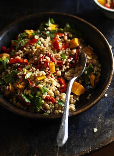 Graupen-Gemüse-Pilaf