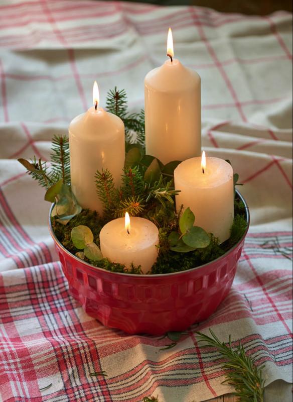 Weihnachten in den Bergen Wohnbuch Callwey Dekoration Advent
