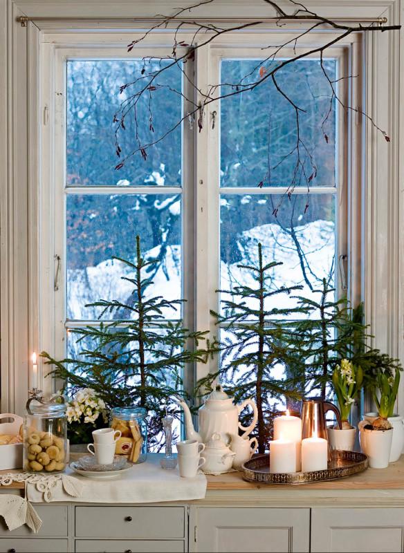 Weihnachten in den Bergen Wohnbuch Callwey Dekoration Advent Dekoration Fenster