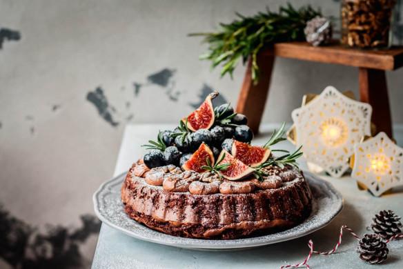 Weihnachten in den Bergen Wohnbuch Callwey Feigen Rosmarin Tarte