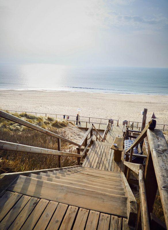 zu gast auf sylt kochbuch callwey beachhouse strand treppe