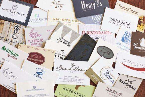zu gast auf sylt kochbuch callwey restaurants visitenkarten