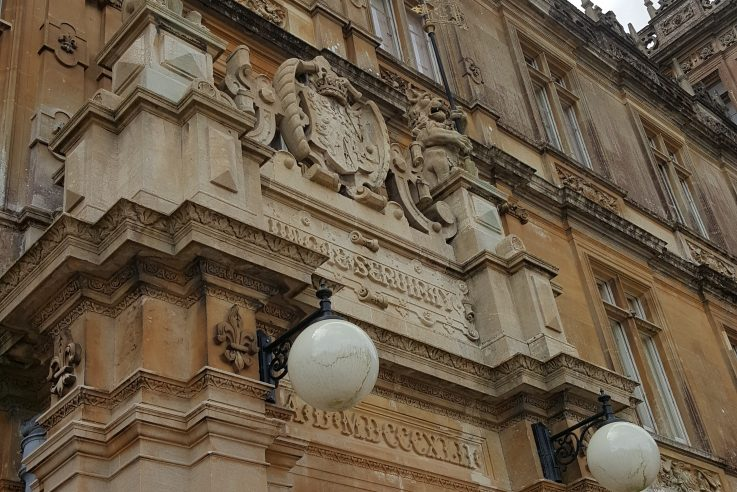 Highclere Castle entrance