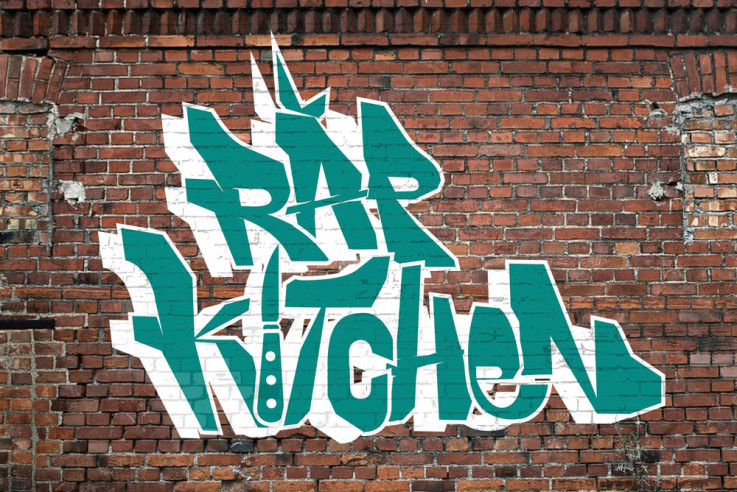 Callwey Rap Kitchen Graffiti
