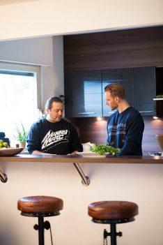 Callwey Rap Kitchen Manny Marc und Tai Jason