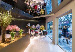 Vergänglichkeit in ihrer schönsten Form: July's Flower Flagship Store in Shanghai