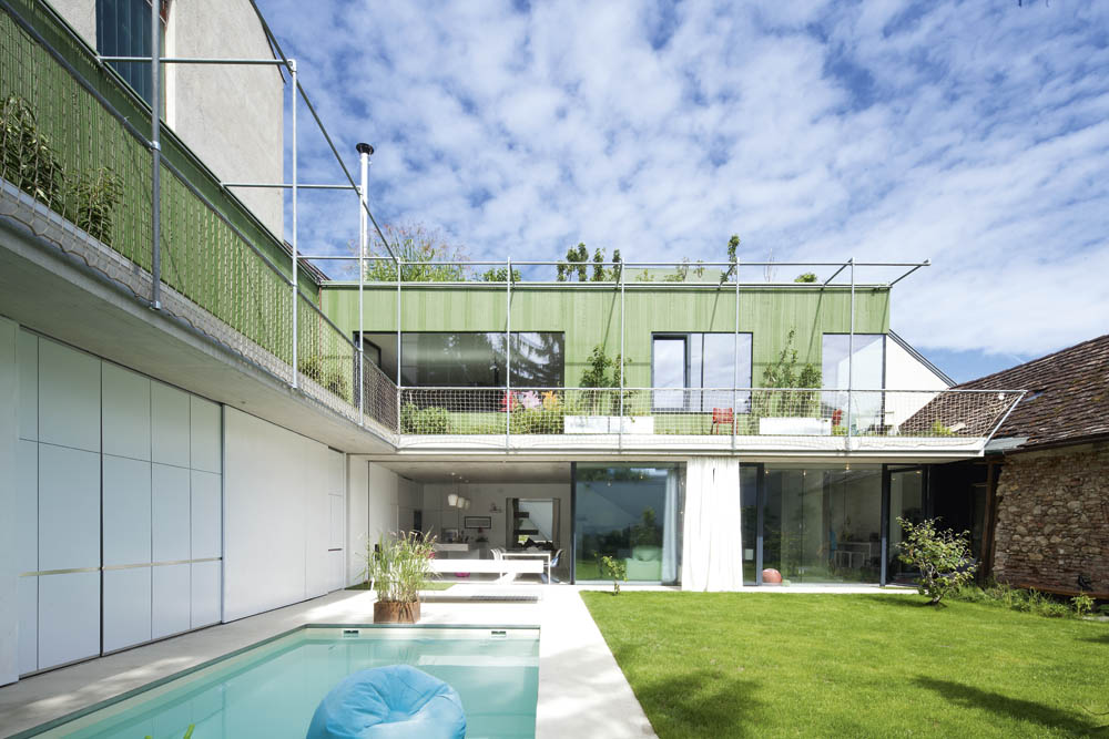 Caramel Architekten Villa in Baden