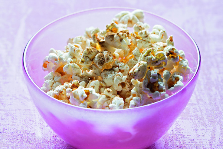 Popcorn kann auch gesund sehr gut schmecken