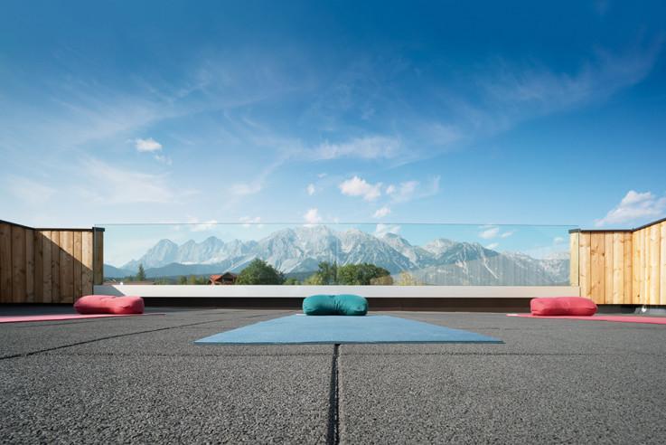 mindful yoga hotels callwey guide Bergkristall hotel