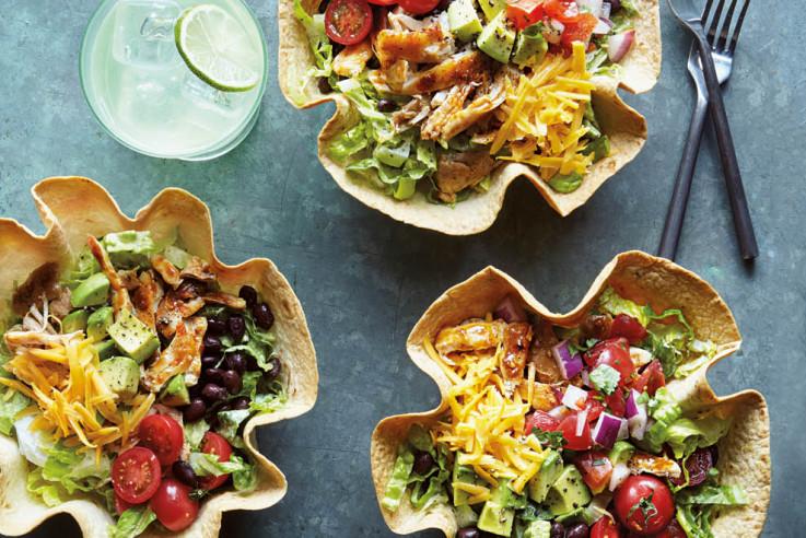 samstagabend-callwey-hähnchen-taco-salat