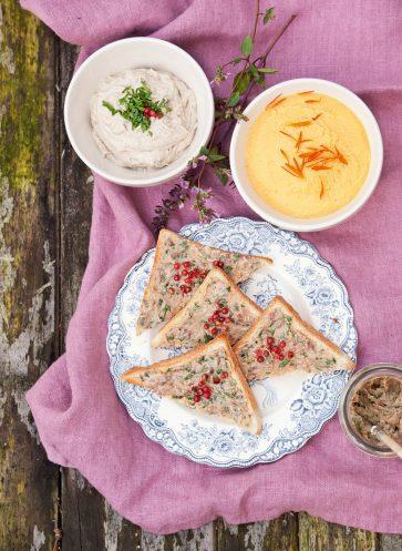 Neue romantische Gartenreisen in England_Anchovy Sandwichs