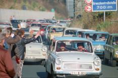 Deutsch-deutsche Grenzöffnung 1989 - Rudolphstein