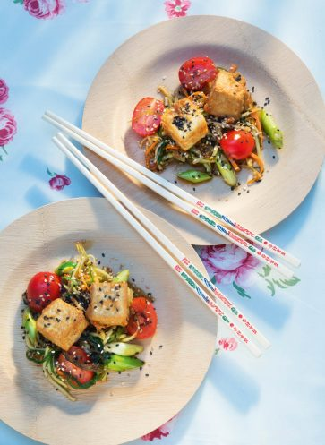 [callwey]-[verrueckt-nach-meer] [gebackener-tofu-mit-papaya-gemuesesalat]