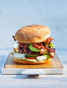 Barbecue Chicken Burger