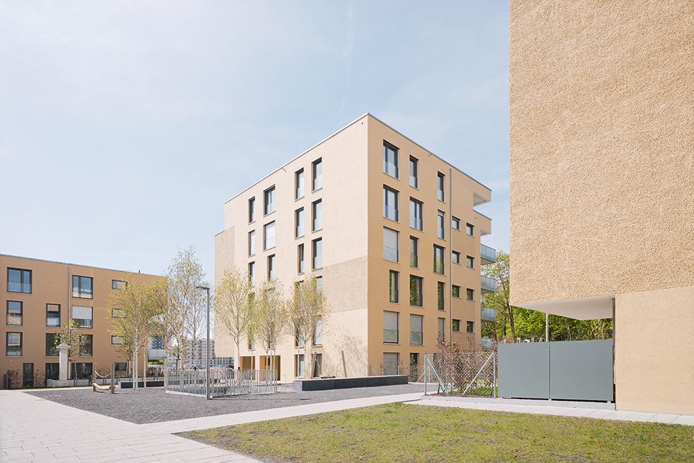 Wohnen im Rosensteinviertel_Ansicht Nord-Ost im QuartiersinnerenWEB