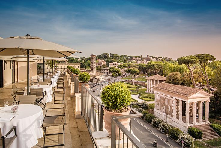 callwey-lufthansa-city-guide-rom-47-circus-roof-garden-hotel-fortyseven-forum-romanum