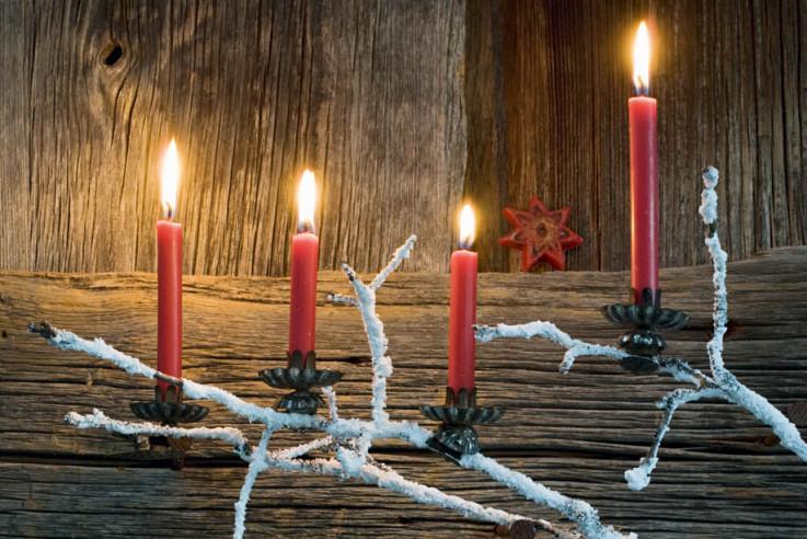 [Callwey]-[Weihnachten-in-den-Bergen]-[Adventskranz]