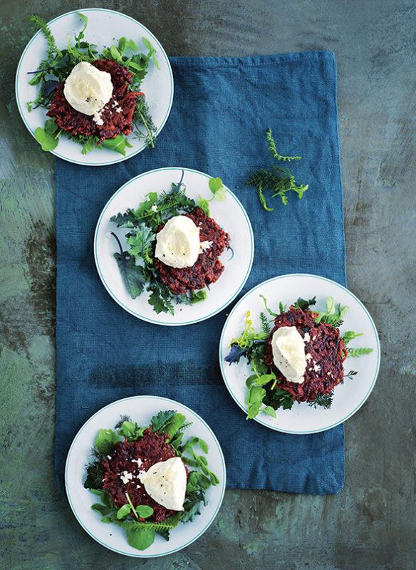 Bonisolli vegetarisch_10_Rote Bete Puffer