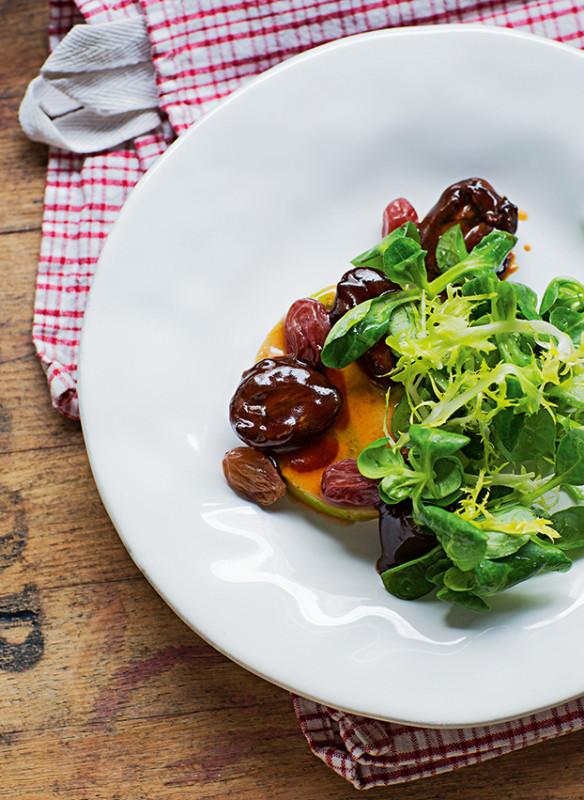 Tim Raue_ Brasserie Colette_Salat Lande