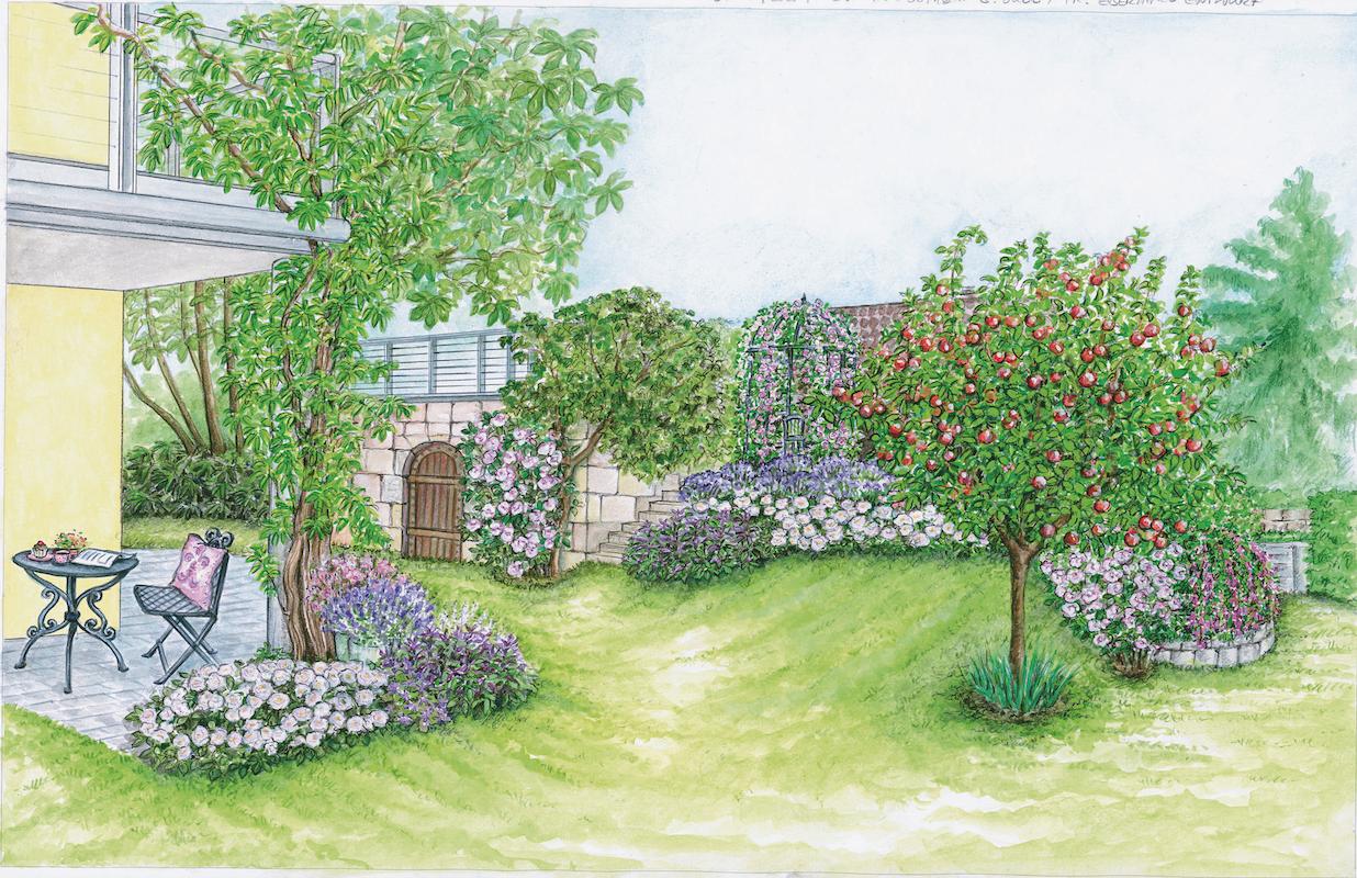Ein Garten - Zwei Ideen - Callwey Einfach