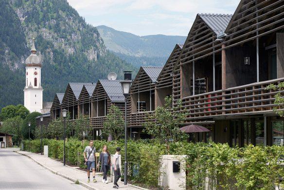 Wohnanlage mit Hotel Quartier, Garmisch