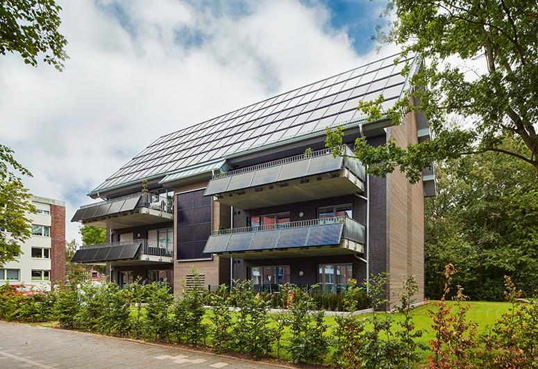 das energieautarke MFH - Aussen 1 Olaf MahlstedtWEB