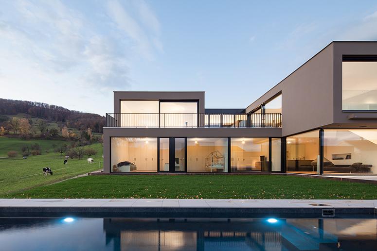 Haus Schibler, Kuettigen, Wannerpartner Architekten, Muttenz, Switzerland, CHE, © B o e r j e  M u e l l e r  P h o t o g r a p h y , k o n t a k t @ b o e r j e m u e l l e r . c o m