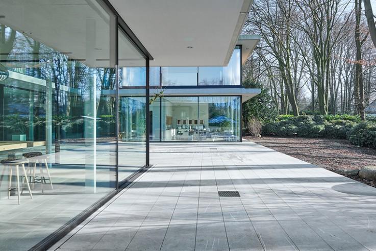 Villa bei Hamburg; Villa near Hamburg
