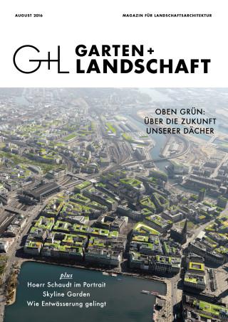 Garten+Landschaft 08/16